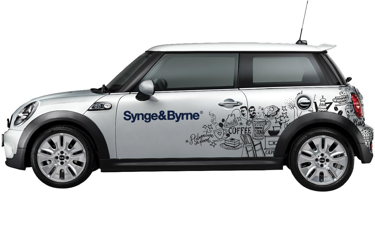 Synge & Byrne Brand Identity car | Salt & Pepper